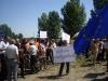 Протест в Дунавци