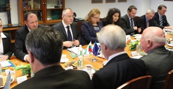 Среща с европейските посланици