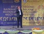Михаил Миков, посещение в Неделино - 7 септември 2014 г.