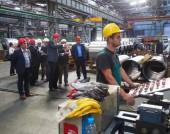 Посещение в предприятие за производство на алуминиеви детайли в Шумен - 25 септември 2014 г.