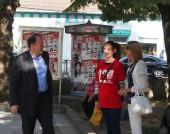 Михаил Миков посети Велико Търново в рамките на предизборната кампания - 21 септември 2014 г.