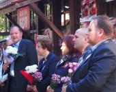 Посещение на Михаил Миков в Девин в рамките на кампанията за Избори 2014.