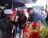 Председателят на БСП и водачът на листата на Коалиция БСП ЛЯВА БЪЛГАРИЯ Атанас Мерджанов посетиха Ямбол и Елхово - 26 септември 2014 г.