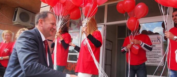 Михаил Миков посети Любимец в рамките на кампанията за Избори 2014 г.