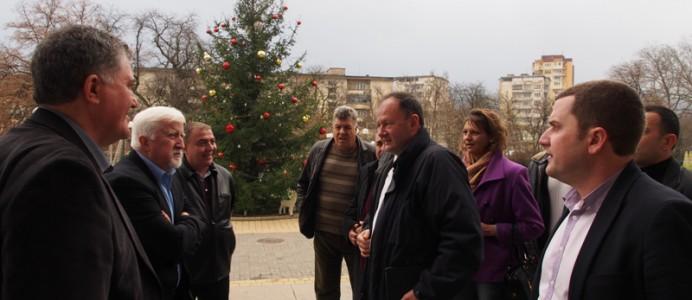 Михаил Миков в Перник - 5 декември 2014 г.