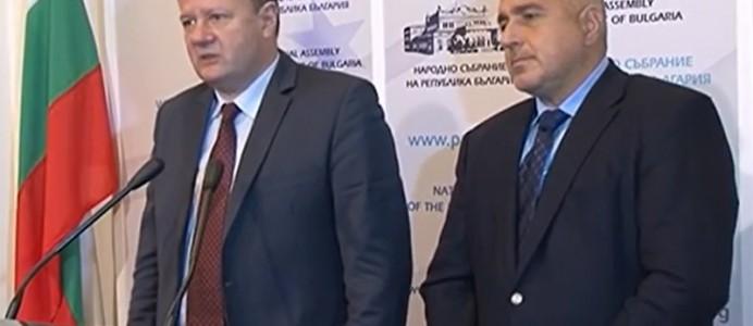 Брифинг на Михаил Миков и Бойко Борисов след среща в Народното събрание – 26.10.2014 г.