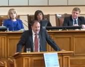 Изказване на Михаил Миков при избора на правителство – 8 ноември 2014 г.