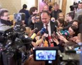 Михаил Миков пред журналисти в парламента - 26 февруари 2015 г.