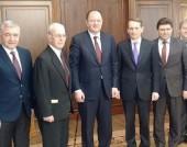 Михаил Миков на среща със Сергей Наришкин - 17 март 2015 г.
