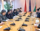 Среща с делегация на ЦК на ККП - 1 април 2015 г.