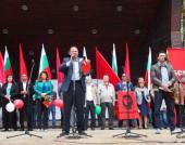 Михаил Миков - митинг за 1 май 2015 г.