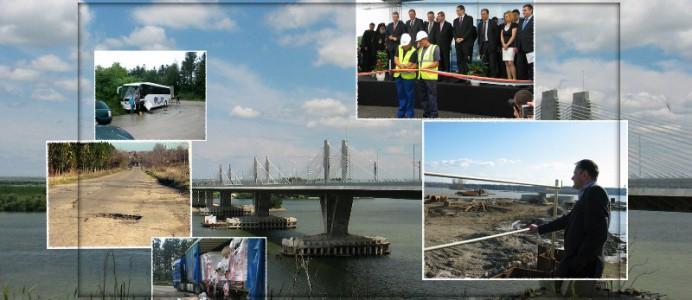 Осем години от първата копка на Дунав мост - 13 май 2015 г.