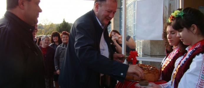 Михаил Миков в Ситово и Тутракан - 18 октомври 2015 г.