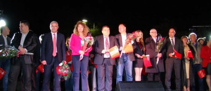Михаил Миков в Бургас - 17 октомври 2015 г.