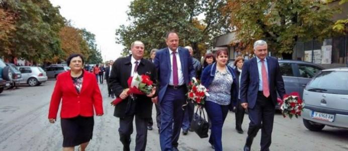 Михаил Миков в Стралджа - 12 октомври 2015 г.