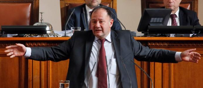 Михаил Миков в НС, бюджет - 19 ноември 2015 г.
