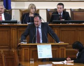 Михаил Миков в парламента - 5 ноември 2015 г.