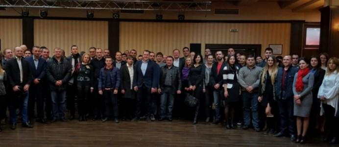 Михаил Миков на среща на младите социалисти в Плевен - 16 януари 2016 г.