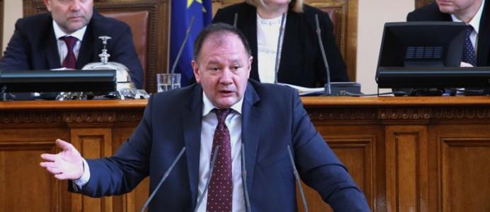 Михаил Миков - вот на недоверие за здравеопазване - 17 февруари 2016 г.