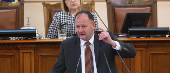 Михаил Миков в НС - 19 февруари - 2016 г.