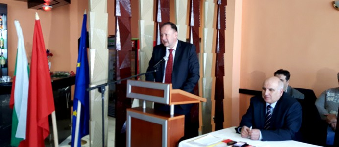 Михаил Миков в Мездра - 26 март 2015 г.