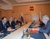 Михаил Миков, посещение в Русия - 22 април 2016 г.