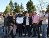 Протест в Димово - 16 април 2016 г.