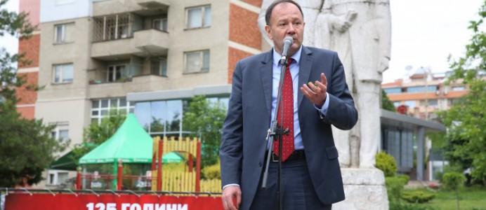 Михаил Миков - в парка на Габовски, Велико Търново - 3 май 2016 г.