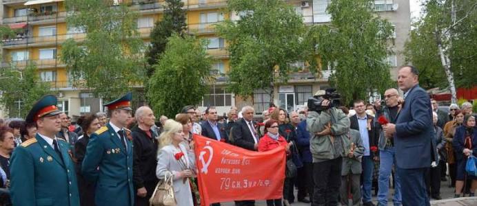 "Михаил Миков при ""Катюшата"", Кула - 10 май 2016 г."