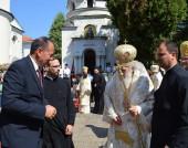 Михаил Миков на честванията на 200-годишнината от рождението на Антим I - 16 септември 2016 г.