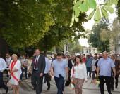 Михаил Миков - честване на 9 септември 2016 г. - Видин
