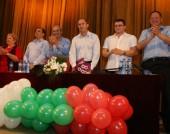Михаил Миков на среща на кандидат-президента на БСП ген. Румен Радев с видинчани - 16 септември 2016 г.