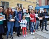Протест срещу СЕТА и ТТИП във Видин - 16 октомври 2016 г.