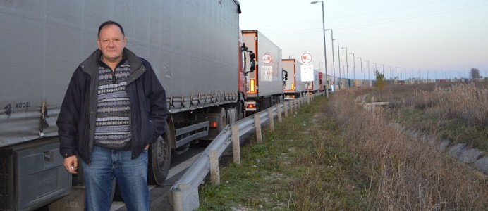 Михаил Миков на Дунав мост 2