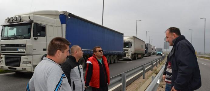Михаил Миков на Дунав мост 2 - 23 октомври 2016 г.