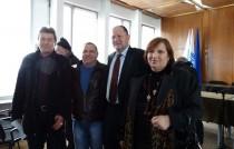 Михаил Миков на среща с кметовете на малки населени места - Видин, 13 януари 2017 г.