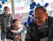 """Михаил Миков във видинския квартал """"Нов път"""" на Банго Васил - 14 януари 217 г."""