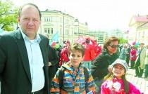 Михаил Миков, семейство - 25 май 2017 г.